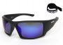 Aruba BLack Blue polarized lenses