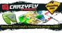 Crazyfly Sculp kite & Bulldozer kiteboard