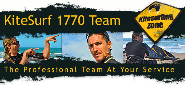 Discover the team of KiteSurf 1770