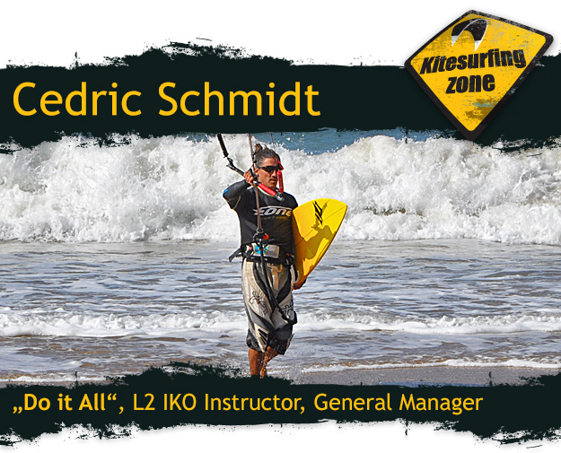 Cedric Schmidt, General Manager, IKO L2 instructor