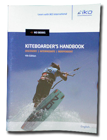 the perfect book (IKO Kiteboarder's handbook) if you are serious about starting to kitesurf