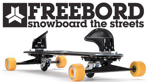Freeboard ... start to snowboard the streets !