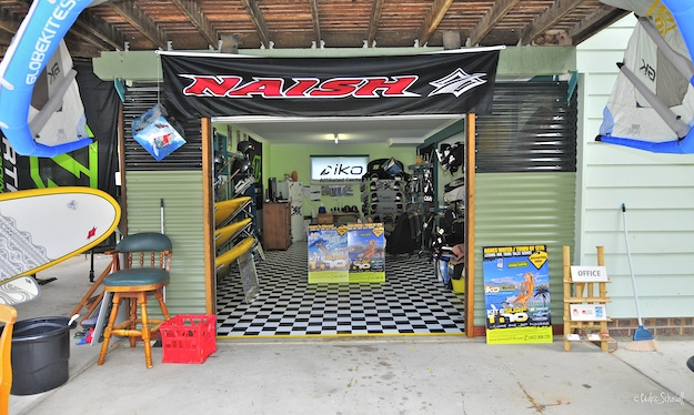 photo of our kitesurf 1770 office & show room